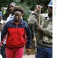 Anti-Mugabe activist Jestina Mukoko has been accused of trying to recruit a militia to overthrow the Mugabe government.
