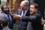 Mugabe, Belarus President Lukashenko and Chavez