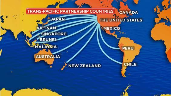 Why The TransPacific Partnership Equals A US Aircraft Carrier - Map of us alliances in asia